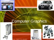 graphics Lect 1 Introduction