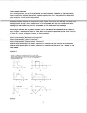 MATHEMATICAL TRANSFORM STUDY GUIDE WITH ANSWERS
