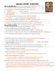 Meiosis_Worksheets.pdf - Meiosis Review Worksheet Part 1 VOCABULARY ...