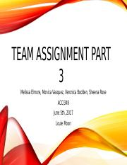 Team Assignment Part 3.pptx
