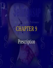 Ch. 9 Prescription