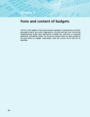Chapter 5  Form And Content Of Budgets
