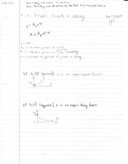 Notes on Exponential Growth and Decay, HW problems