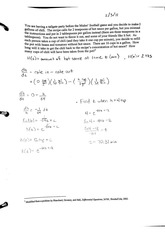 Differential Equations Concentration Word Problem