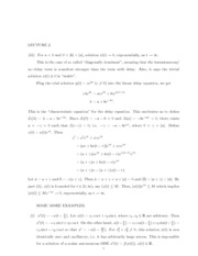 Lecture 2 Notes and Solution
