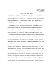 Brook Farm Research essay