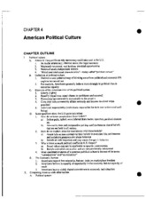 AP Government Lecture 8 Notes