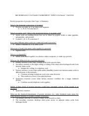 Microbiology Study Guide-Exam 2