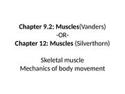 ch.9.2 Muscles