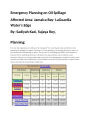 Emergency Planning on Oil Spillage (2).docx