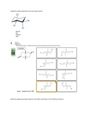 Organic Chemistry Practice Questions For Exam 1