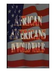 African Americans and World War II.pptx