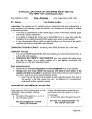 schulich mba essay questions 2013