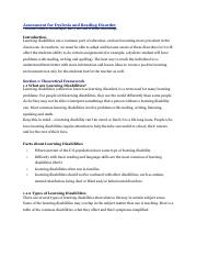 Assessment for Dyslexia and Reading Disorder.pdf