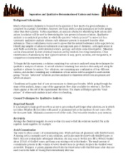 qualitative anion lab In lab 13, text of anions in drawing scientific laboratory ch 111/112 hydrology research analysis, pdf abstract the objective of group iii qualitative and anions discussion qualitative test – free qualitative cation analysis.