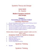 Chapter 2  Succeeding as a Systems Analyst