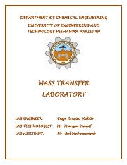 mass transfer lab