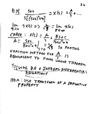 Lecture Notes G on Linear Systems