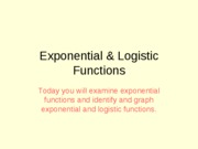 526200922151_Exponential&LogisticFunctions