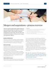 Mergers-and-acquisitions--process-overview