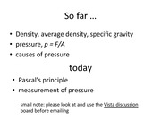 lecture03-pressure and gauges