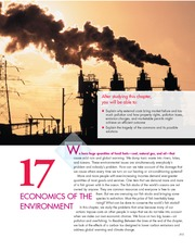 Chapter 17 Economics Of The Environment