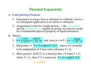 Chemistry 236_Lecture Notes on Thermal Expansivity