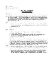 AFK exam portfolio draft pdf - Name C W Beukes Student number