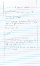 Notes on Components for Aggregate Demand
