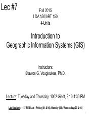 Lecture 07 GPS Basics 2015
