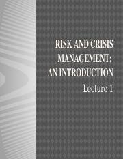 Lecture_1_Introduction_to_Crisis_and_Risk_Management