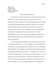 History Close Reading Paper
