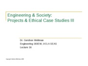 16 - Projects & Case Studies III