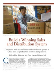 Week 7-Building a Winning Sales and Distribution System
