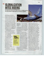 globalization bites boeing Our solutions are written by chegg experts so you can be assured of the highest quality  globalization bites boeing, bloomberg businessweek, march 12, 2008.