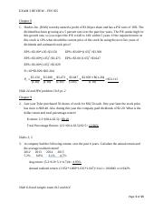 FIN 305 Exam 3 Review_Answers Final Revised(3).docx
