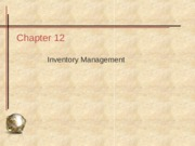 08 Inventory Management