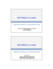 all_politics_is_local