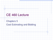 CE 460 Chapter 5