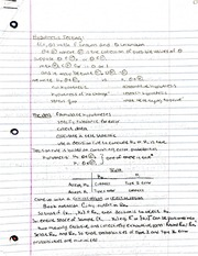 Hypothesis testing notes