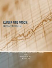 problem statement kudler fine foods essays Read kudler fine foods pr campaign free  list into a problem statement should  systems development kudler finer foods kudler fine foods is an upscale.
