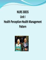 Unit I; Health perception Health management pattern role relationship(1).ppt