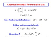 Equilibrium and Ideal Gases part 1