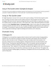 Irony in The Scarlet Letter- Examples & Analysis | Study.com.pdf