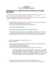 Assignment #3- Using the USF Library Resources and Catalog (1)