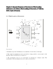 Chapter 6 Dynamic Response of Structures to Wind Loading