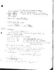 Class Notes on Surface Area and Probability
