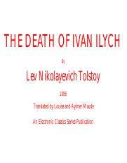 Reflections on Reason and Passion  The Death of Ivan Ilych   Leo     Goodreads compare and contrast the literature Notes From Undergound by Fyodor  Dostoevsky and The Death of Ivan