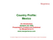 Country Profile Mexico
