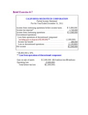 Chapter 4   The Income Statement and Statement of Cash Flows11